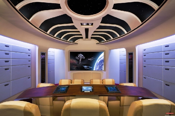 Neil Kelly story about man caves includes a Star Trek themed man cave