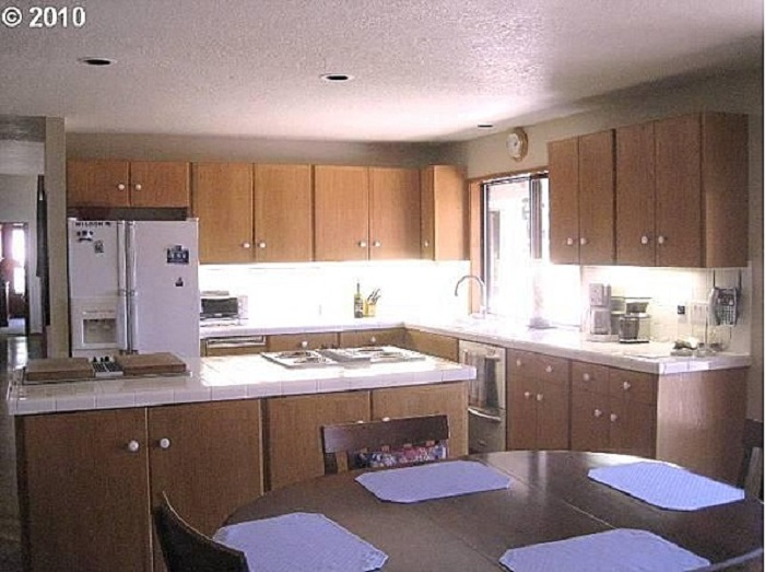 "Mid-Century ""Before"" Neil Kelly Kitchen remodel idea"