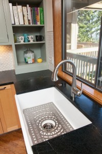 "Mid-Century Kitchen Sink ""After"" Neil Kelly Remodel"