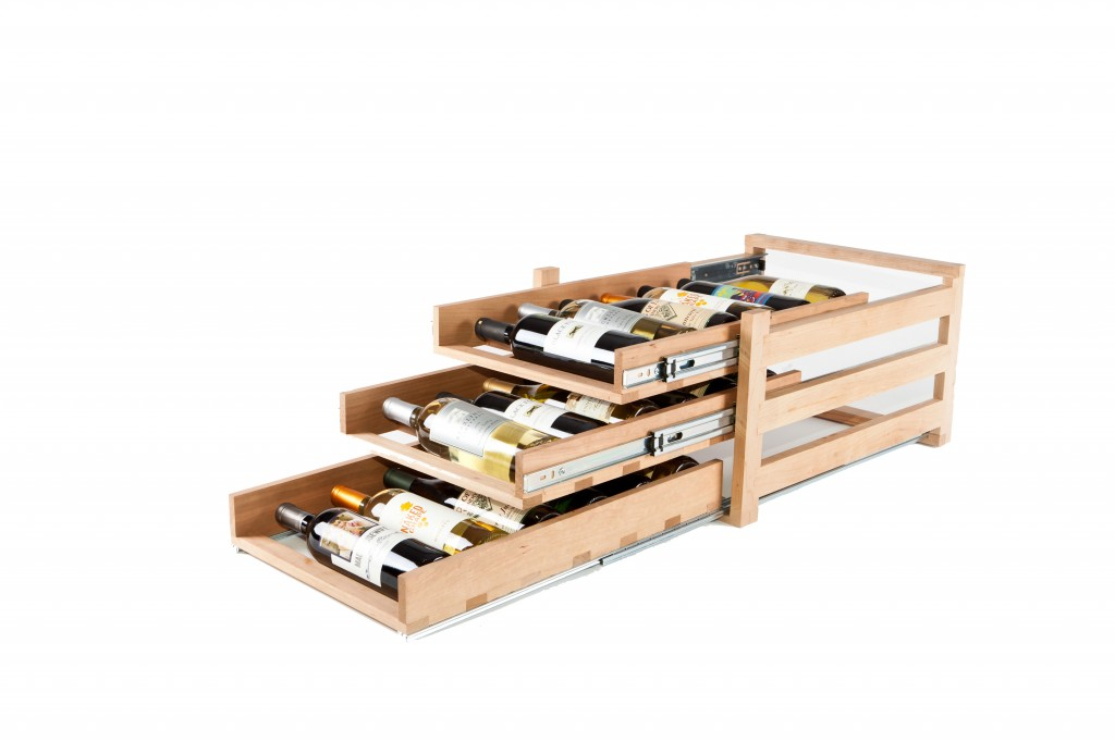 Neil Kelly Wine Rack Roll Out for Home Improvement Gift Idea