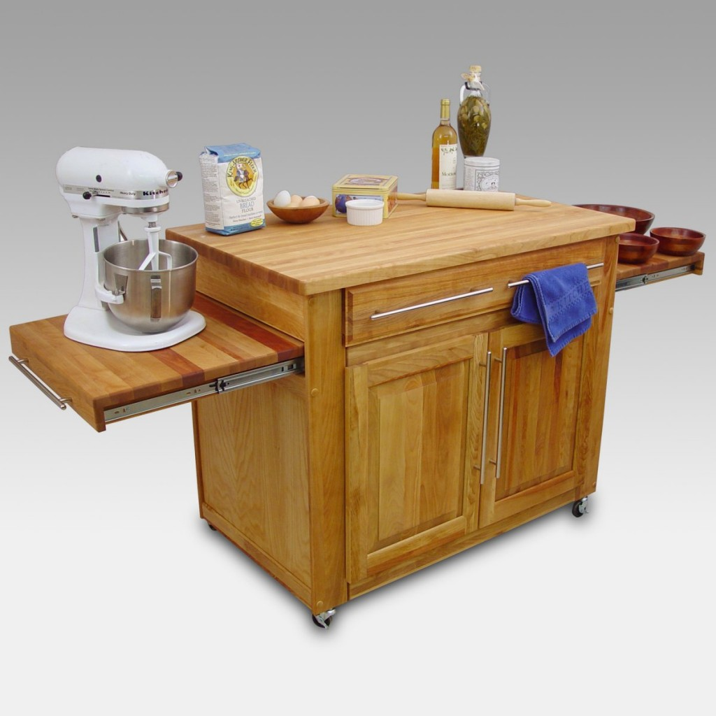 Mobile Table in small kitchen design