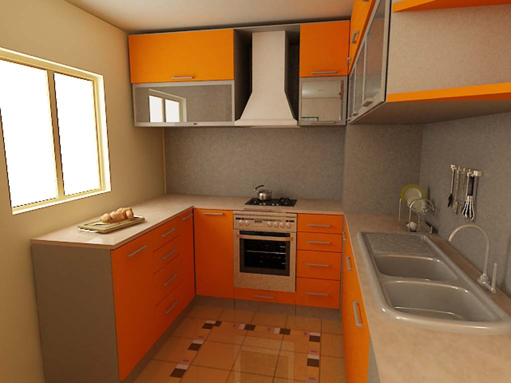 Example of small kitchen design in Neil Kelly story