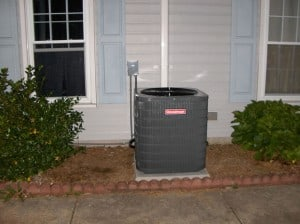 handyman project that involves cleaning heat pump