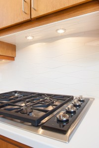 Kitchen Renovation featuring ogee backsplash