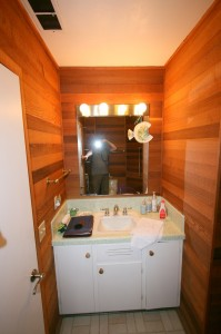 """Before"" picturr of bath for small bathroom ideas story"