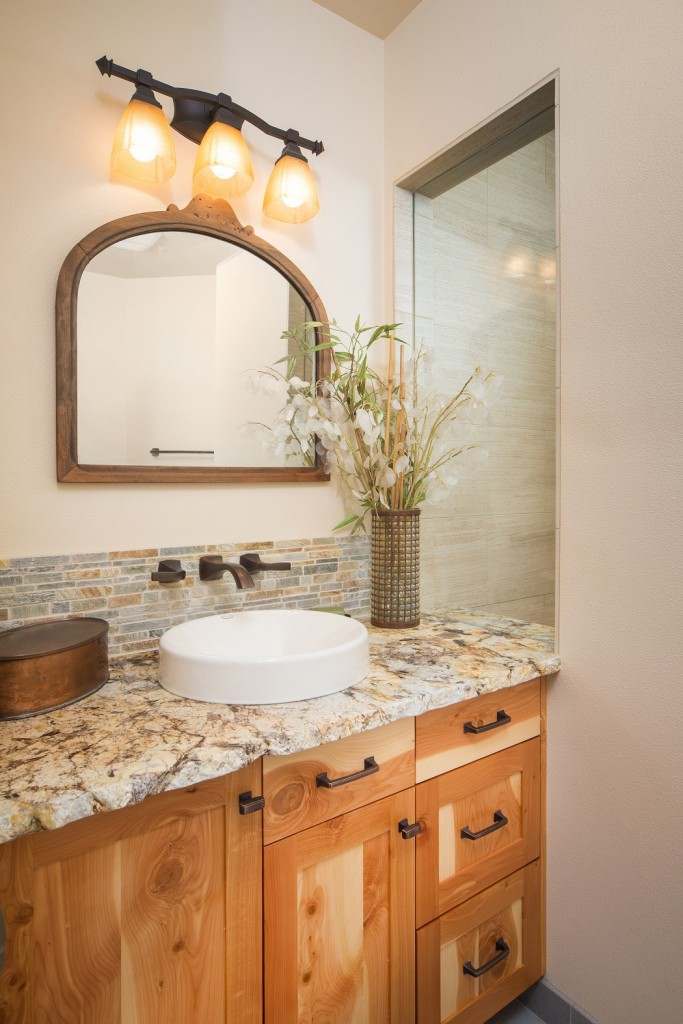 """After"" pictures of a Neil Kelly remodeled bathroom"