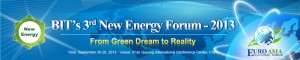 2013 New Energy Forum