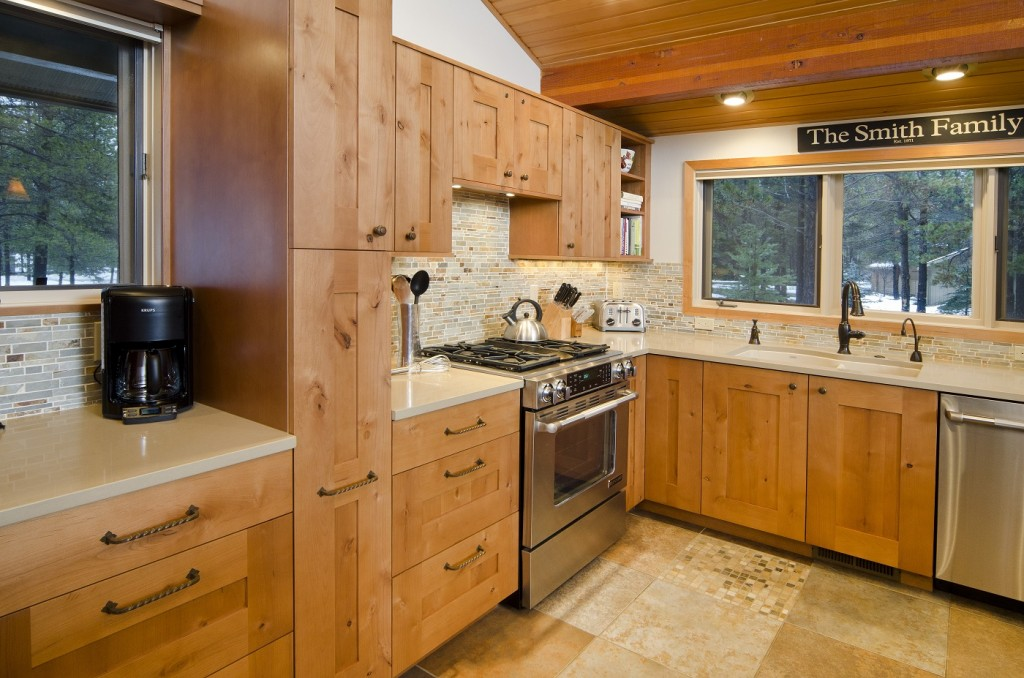 Healthy cabinets are featured in this Neil Kelly article