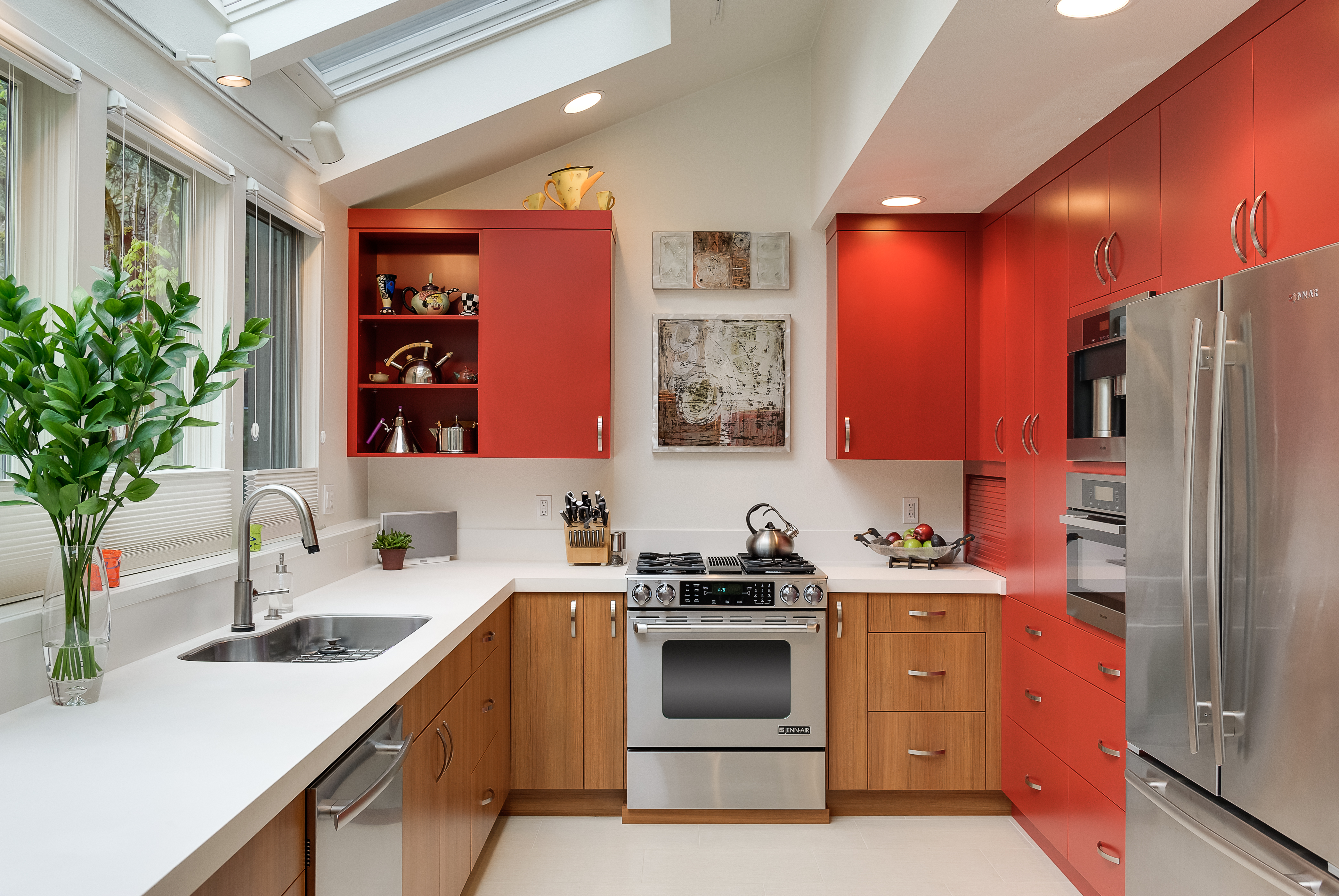 downsizing your space, downsizing your kitchen