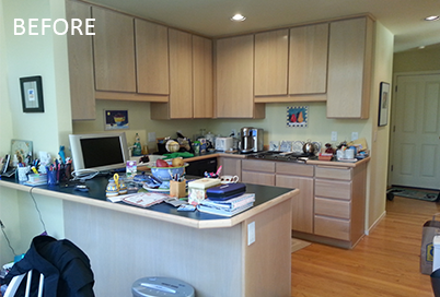 Kitchen Remodeling, Cosmetic Before Image - Neil Kelly