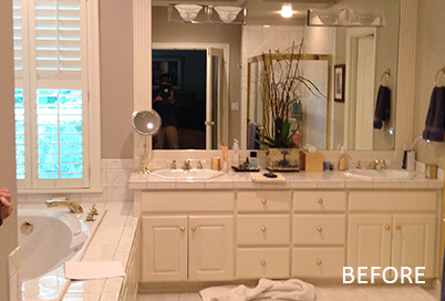 Bathroom Remodeling, Pull & Replace Before Picture - Neil Kelly