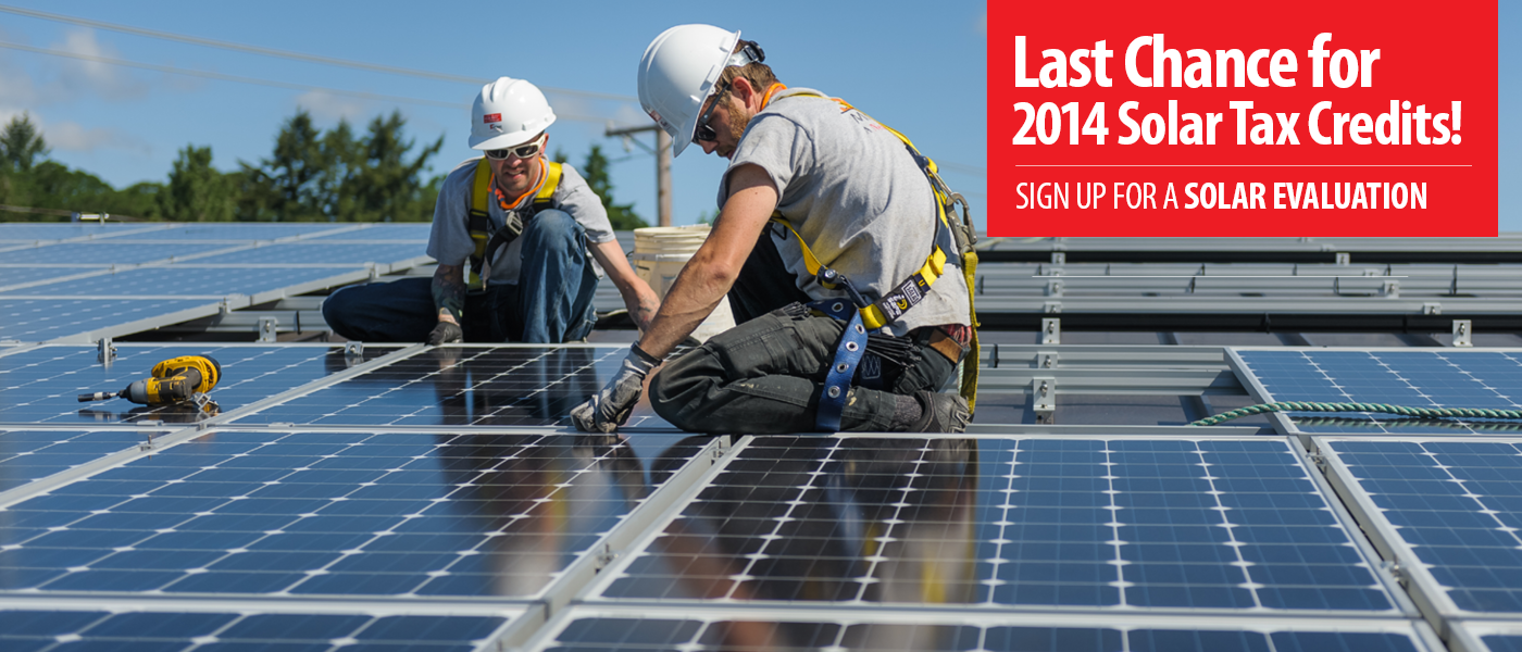 Solar Last Chance for Tax Credits