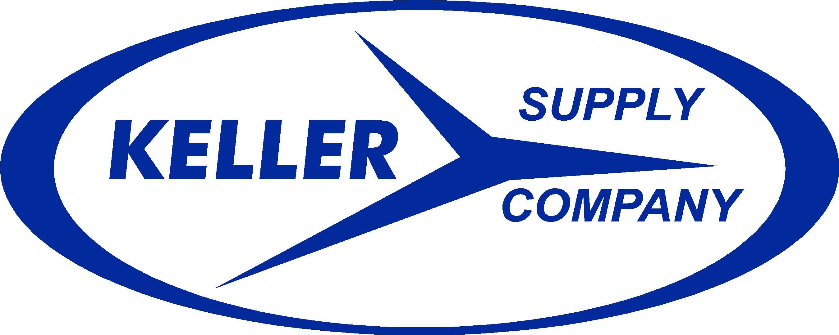 Keller Supply blue  Logo