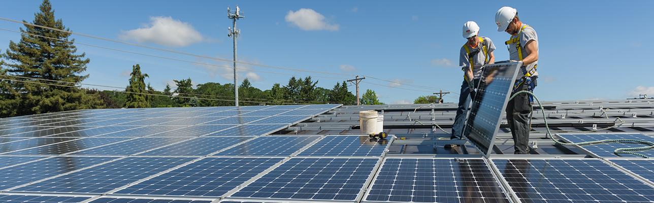 Commercial Solar Header