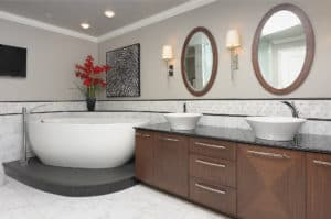 Curved Elements In Baths