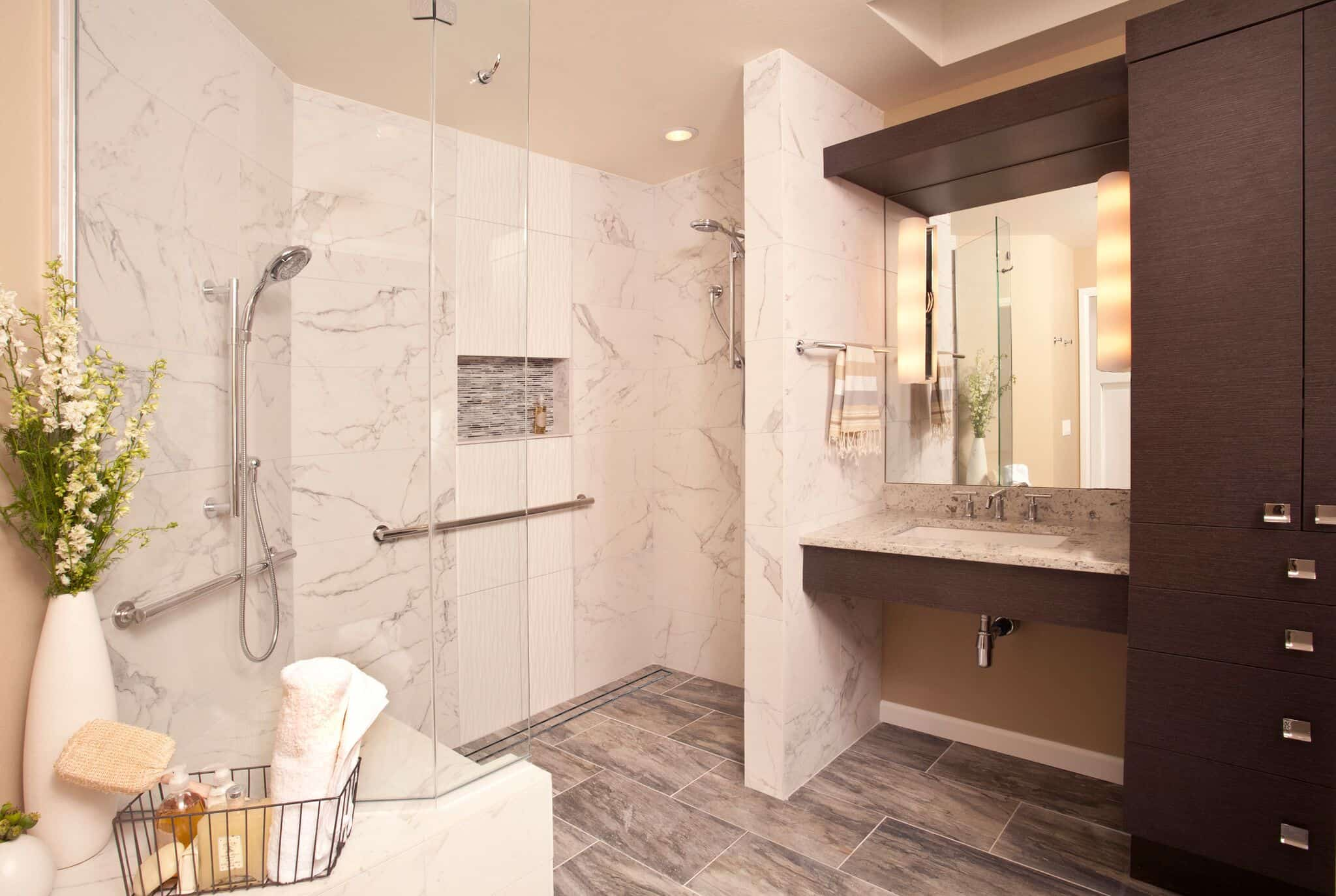 Updated bathroom remodels are just part of Neil Kelly's Service