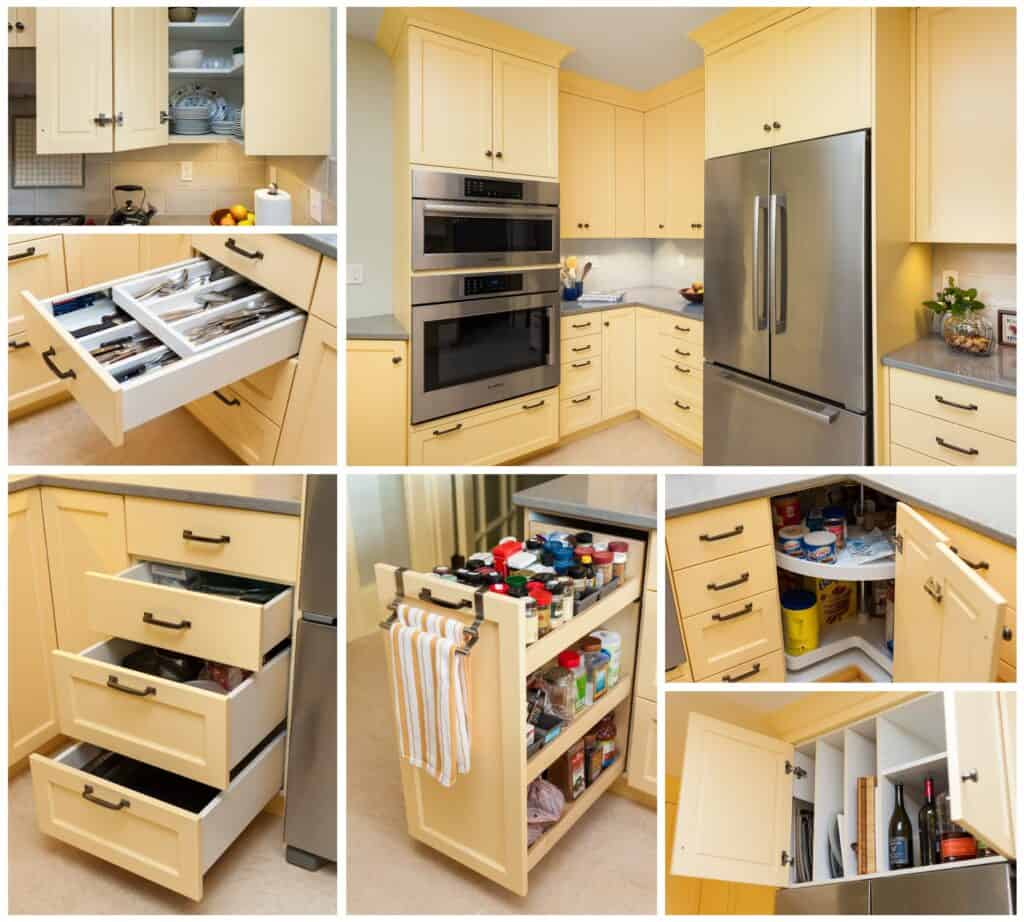 Storage in every part of the kitchen