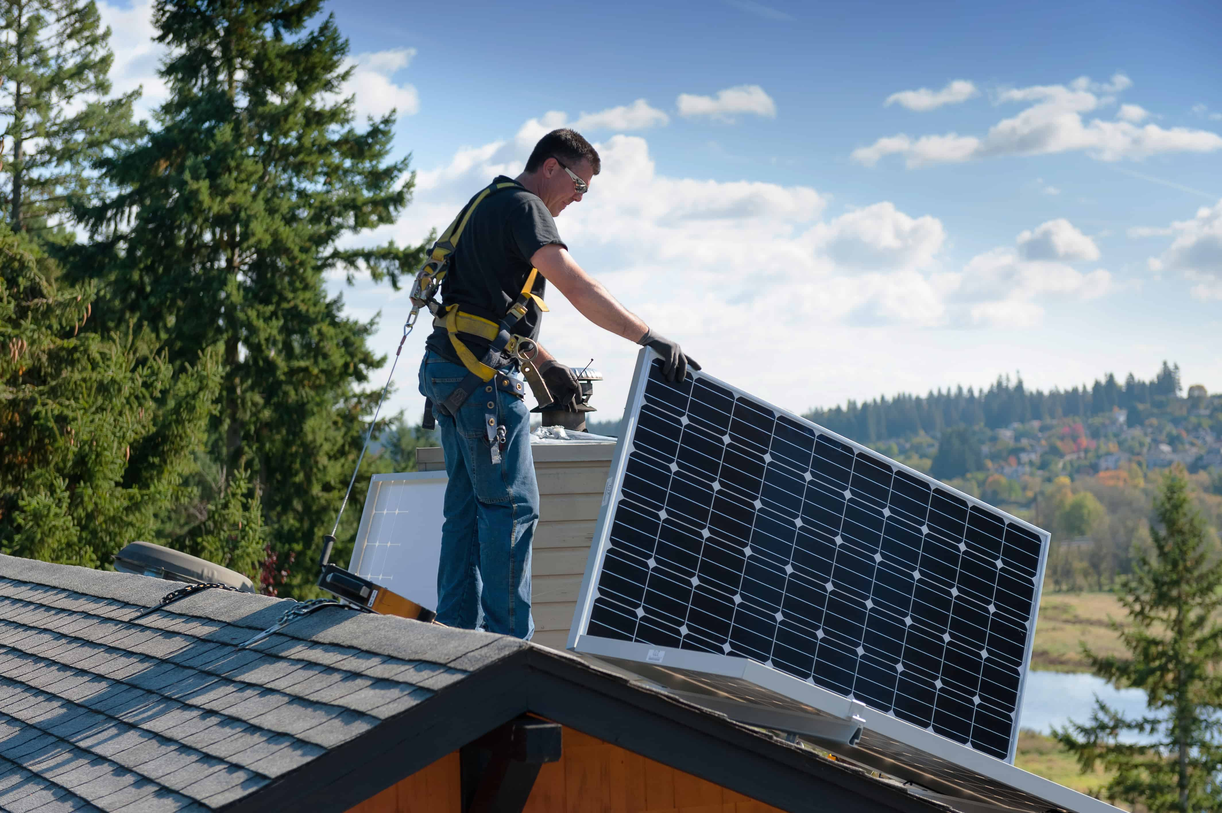 Neil Kelly installs solar panels in Portland, Bend, Seattle, and Eugene