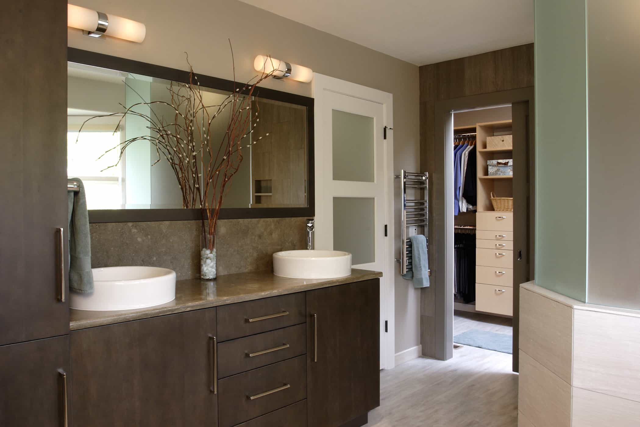 Modern bathroom remodels are a Neil Kelly specialty