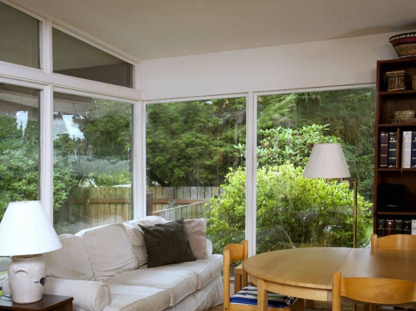 Mid-century modern home improvements like window installation done by Neil Kelly