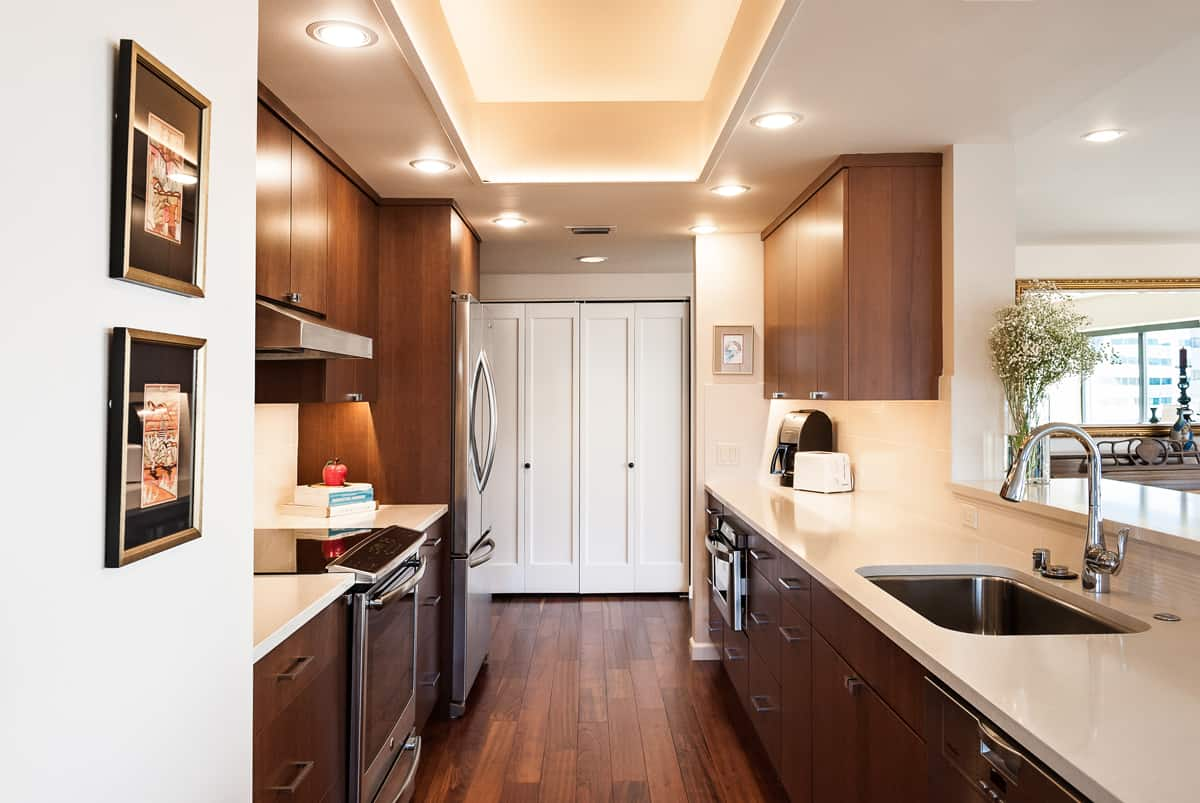 Modern kitchen update by Neil Kelly