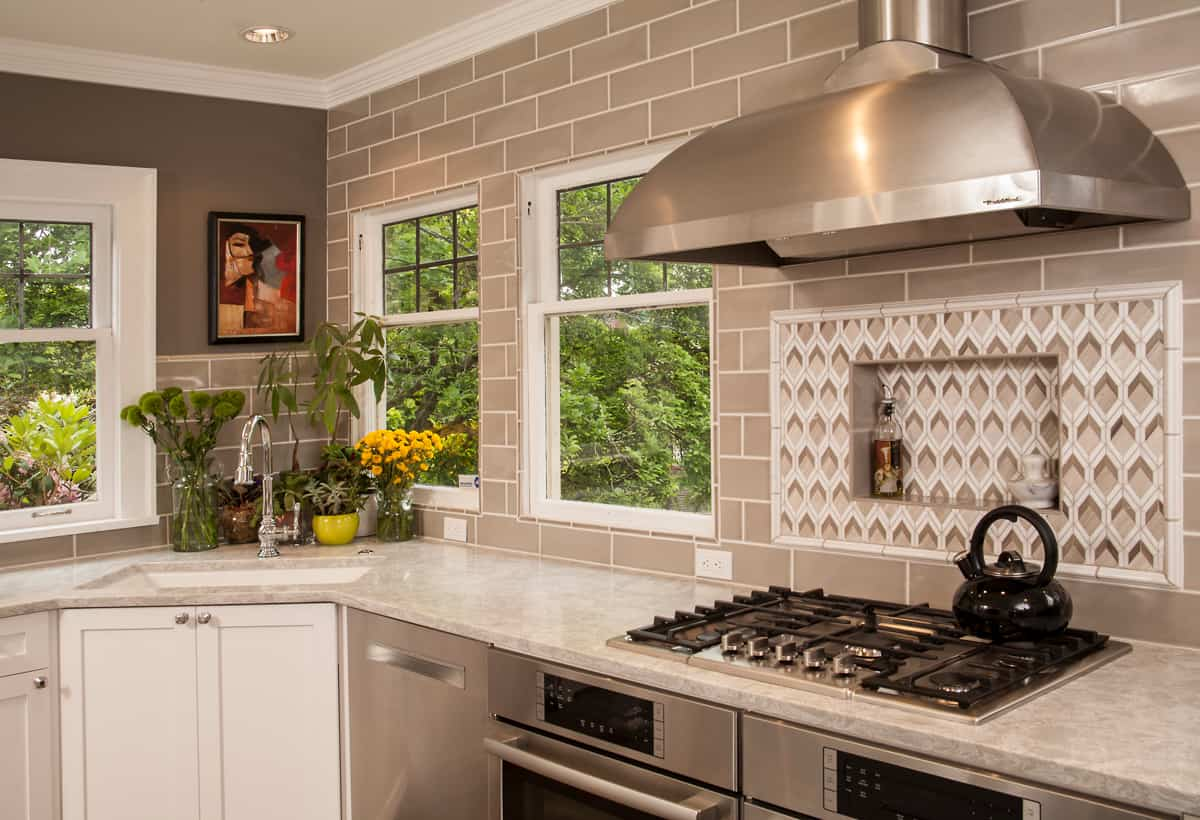 Image of: Choosing A Stunning Backsplash For Your Kitchen Neil Kelly