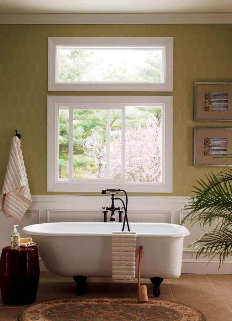Sliding glass windows