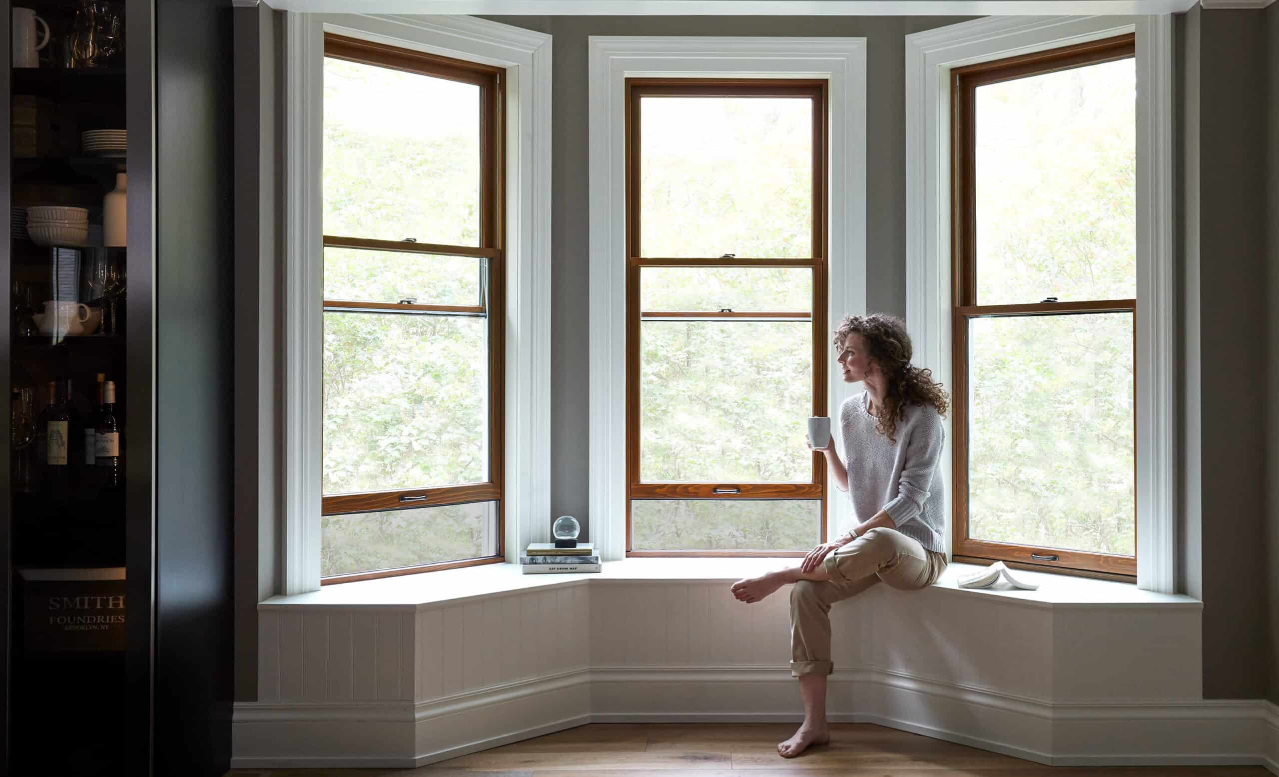 Bay windows by Pella